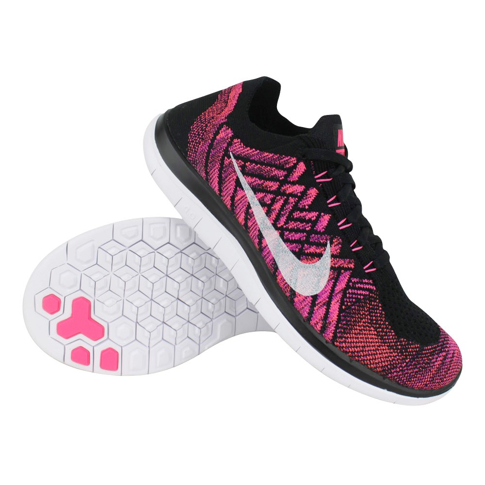 nike free run dames zwart